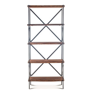 Blayne Brown 78-Inch Tall Bookshelf