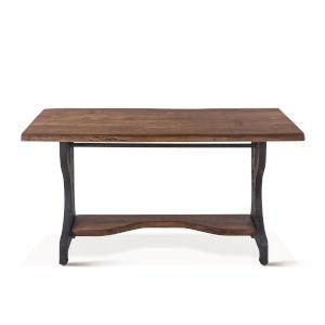 Blayne Brown Edge Desk
