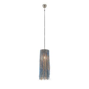 Bali Nickel One-Light 24-Inch Pendant
