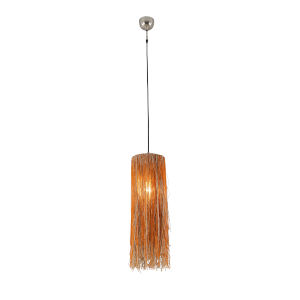 Bali Nickel One-Light Hanging Pendant