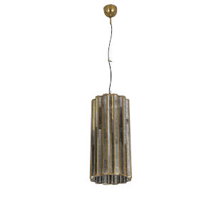 Bali Antique Brass One-Light Pendant