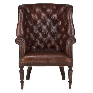 Charles Oak Brown Armchair