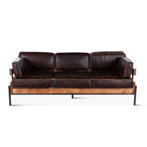 Chiavari Dark Brown Sofa