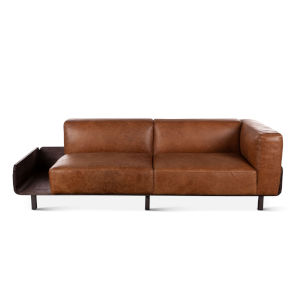 Chiavari Brown Sofa