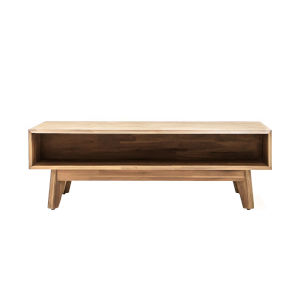 Kensington Sand 47-Inch Acacia Wood Coffee Table