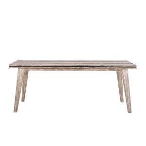 Beachwood Weathered Graywash 78-Inch Acacia Wood Dining Table