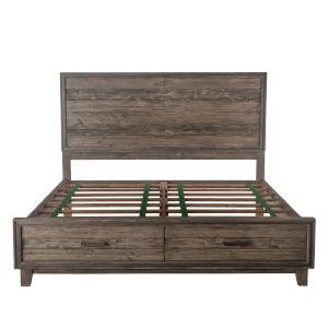 Beachwood Weathered Graywash King Bed