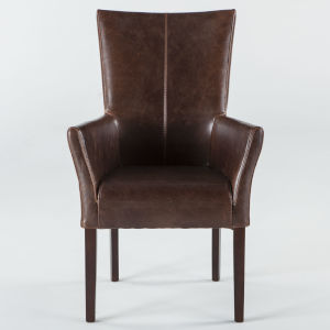 Jaden Dark Walnut Armchair