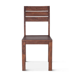 Lisbon Modern Walnut Dining Chair, Set of 2