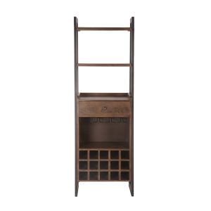 Mapai Walnut and Antique Zinc Cabinet