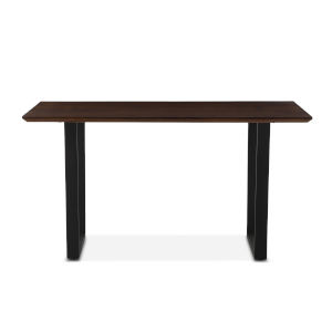 Mapai Walnut and Antique Zinc Dining Table