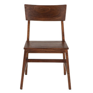 Nottingham Walnut and Lacquer Side Chair, Set of Two