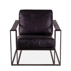 Portlando Black Armchair