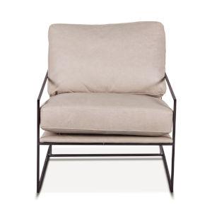 Portlando White Armchair