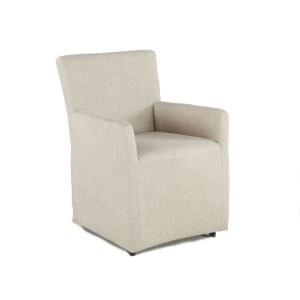 Lily Beige 24-Inch Armchair