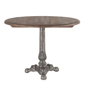 Regina Weathered Gray and Natural Dining Table
