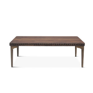 Vallarta Two Tone and Bronze 48-Inch Mango Wood Coffee Table
