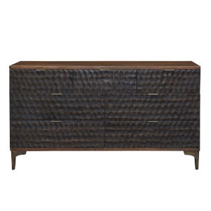 Vallarta Two Tone and Bronze 60-Inch Wood Dresser
