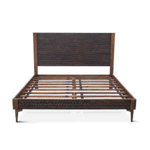Vallarta Brown and Bronze Queen Bed