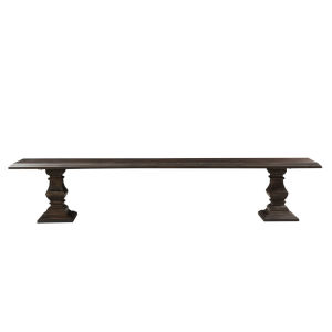 Toulon Vintage Brown 96-Inch Bench
