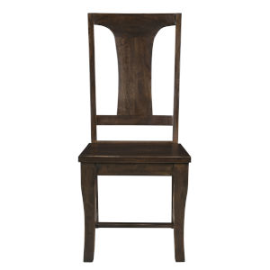 Toulon Vintage Brown Dining Chair, Set of Two