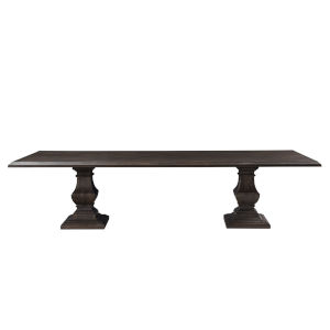Toulon Vintage Brown 120-Inch Rectangular Dining Table