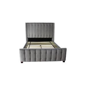 Lisbon Light Gray Queen Bed