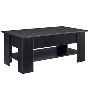 Black 24-Inch Coffee Table