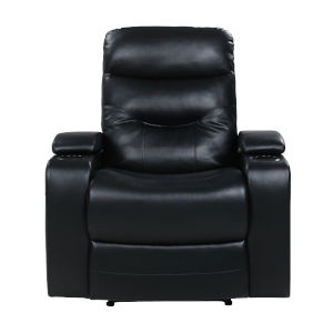 Relax A Lounger Black Recliner