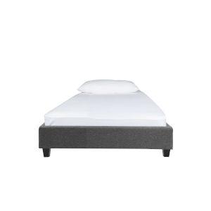 Norway Dark Gray Twin Bed