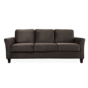 Wilshire Coffee Polyester Sofa