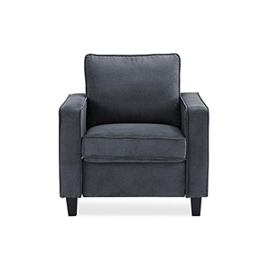 Garren Dark Grey Polyester Chair