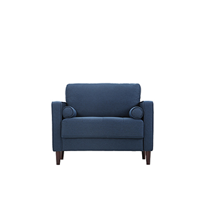 Lillith Navy Polyester Chair