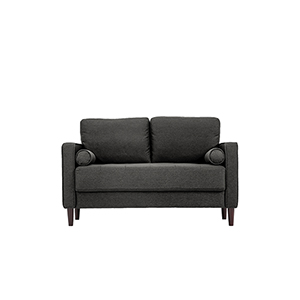 Lillith Heather Grey Loveseat