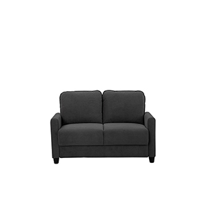 Sydney Black Loveseat