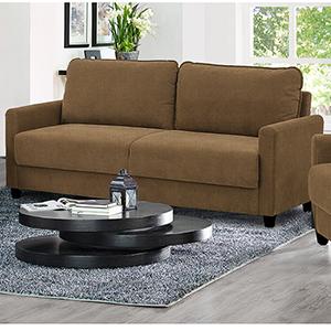 Sydney Taupe Polyester Sofa