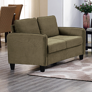 Shelly Taupe Loveseat