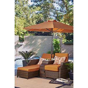 Relax A Lounger Santa Cruz Outdoor Convertible