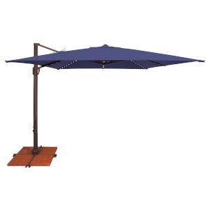 Bali Pro Blue Sky Square Cantilever Umbrella