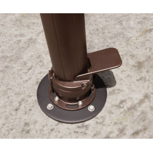 Dark Brown Concrete Mount Kit