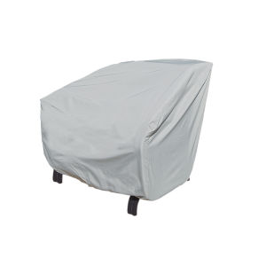 Grey Club and Lounge Chair Protective Cover