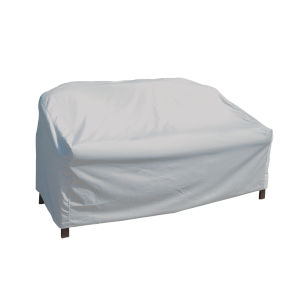Grey Loveseat Protective Cover
