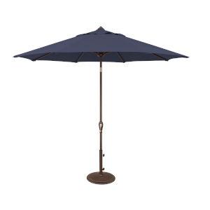 Aruba Navy Market Umbrella