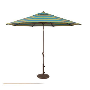 Aruba Astoria Lagoon Stripe Market Umbrella