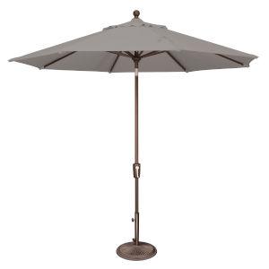 Catalina Cast Silver 108-Inch Market Umbrella
