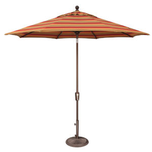 Catalina Astoria Sunset Stripe Market Umbrella