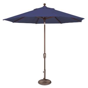 Catalina Blue Sky 108-Inch Market Umbrella