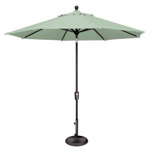 Catalina Spa and Black 108-Inch Push Button Market Umbrella