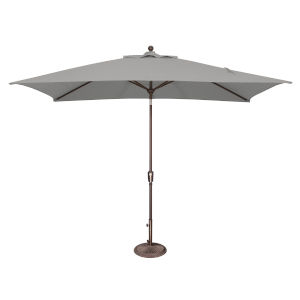 Catalina Cast Silver Market Umbrella