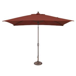 Catalina Henna and Bronze Push Button Market Umbrella